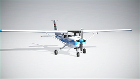 Malev Aero Club Cessna c152 Image Flight Simulator 2020