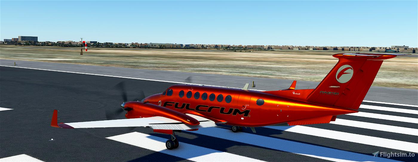 Fulcrum King Air Copper Flight Simulator 2020