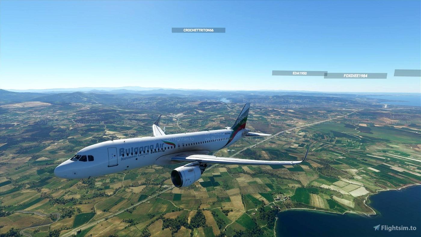 Bulgaria Air A320Neo Flight Simulator 2020