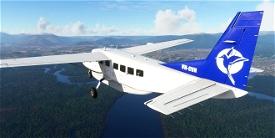 Cessna C208B Grand Caravan VH-CVN Hinterland Aviation Image Flight Simulator 2020