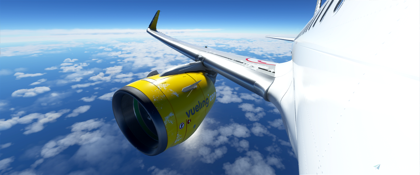 [8k] A320 Neo - Vueling Airlines Image Flight Simulator 2020