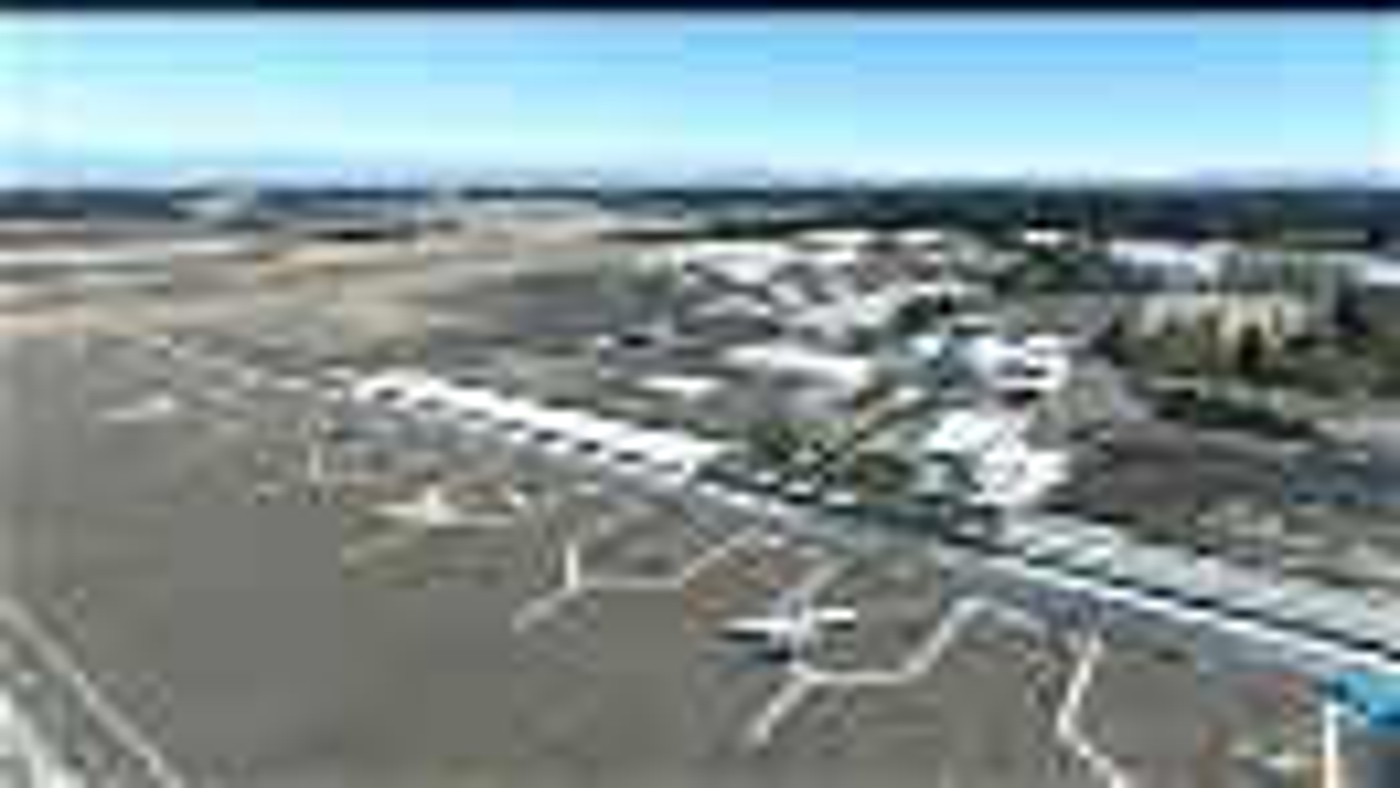 Daugherty Field, Long Beach CA USA - KLGB V2.21 Image Flight Simulator 2020