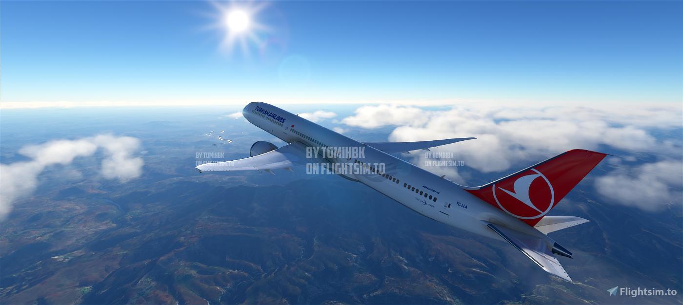 B787 Turkish Airlines | 4K Flight Simulator 2020