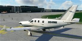 Daher TBM OO-PMK Image Flight Simulator 2020