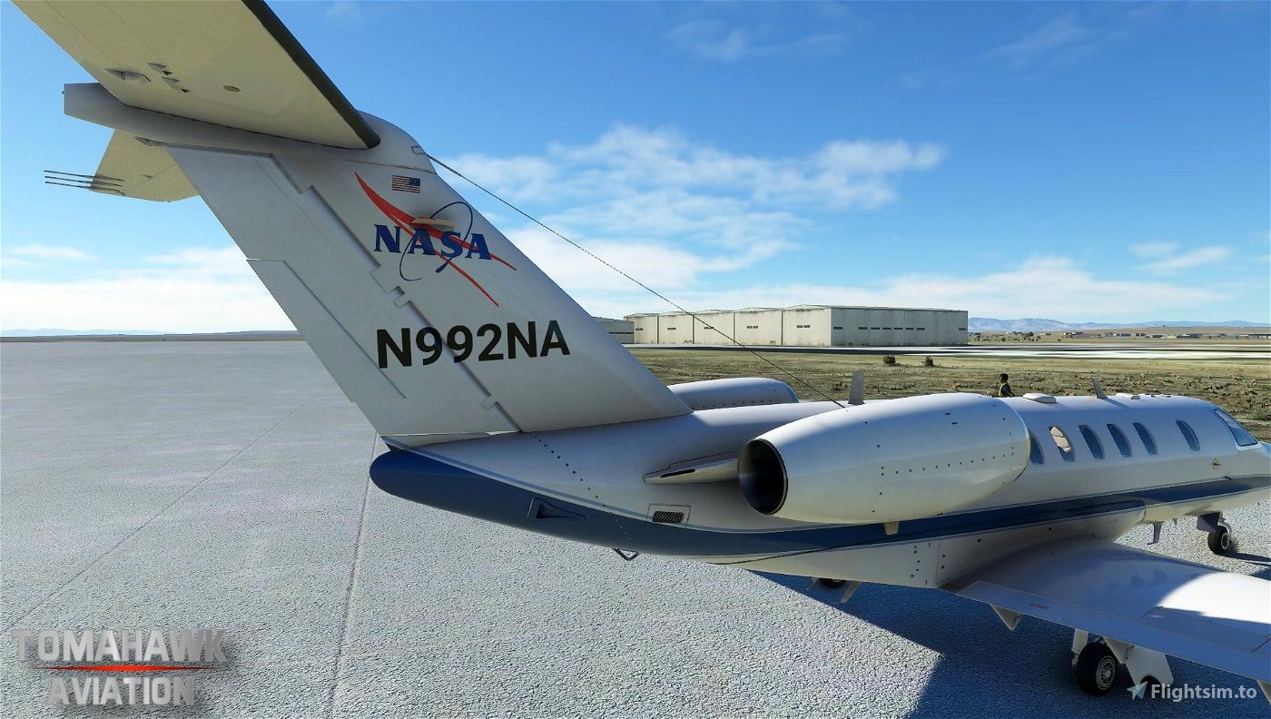 NASA Cessna Citation CJ4 [1.10.7.0]