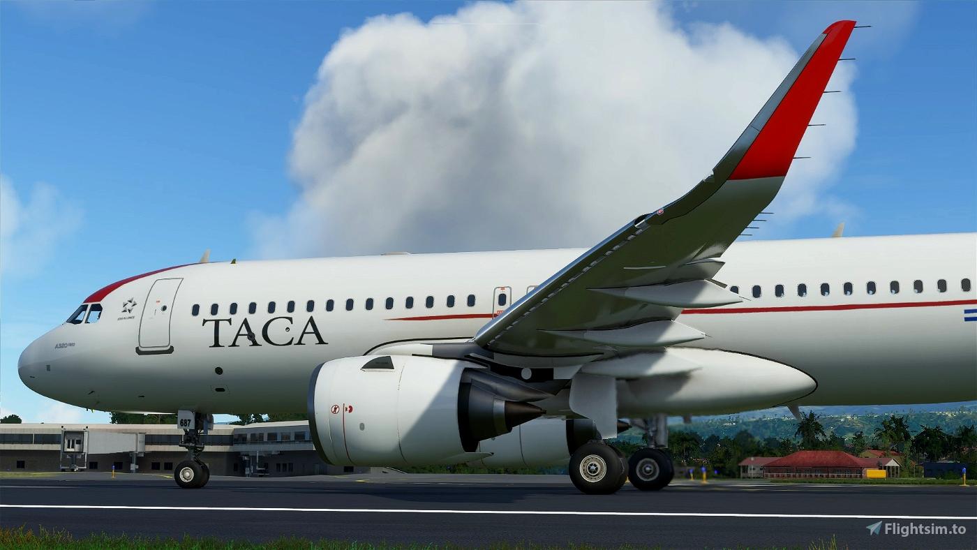 [8K Res] A320neo Taca N687TA and N684TA