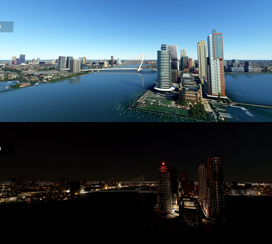 Rotterdam Iconic Building Pack Image Flight Simulator 2020