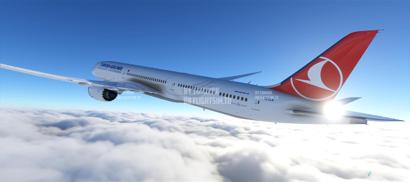 B787 Turkish Airlines | 4K