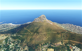 Lion's Head Cape Town  Image Flight Simulator 2020