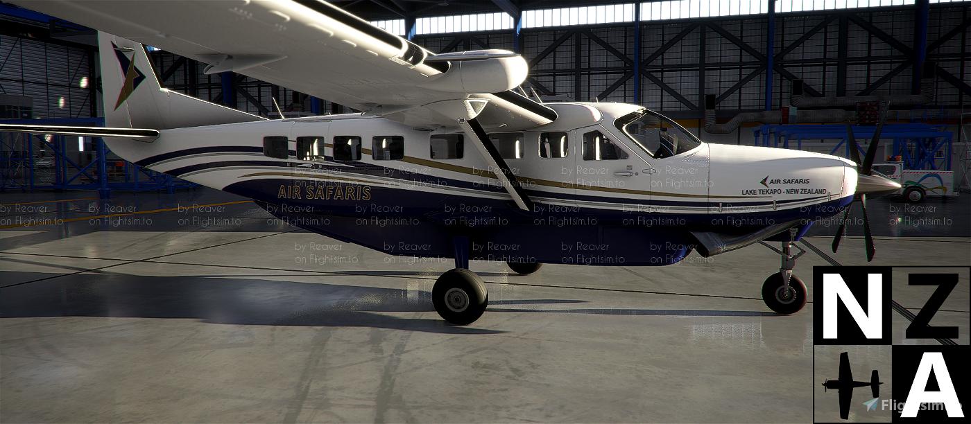 New Zealand Air Safaris Caravan 208