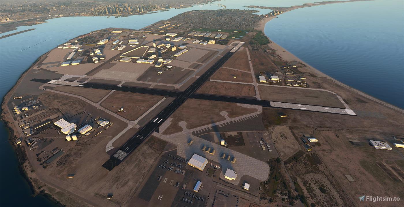 KNZY - North Island Naval Air Station (Halsey Field) Flight Simulator 2020