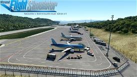 Skiathos International Airport (LGSK) Microsoft Flight Simulator
