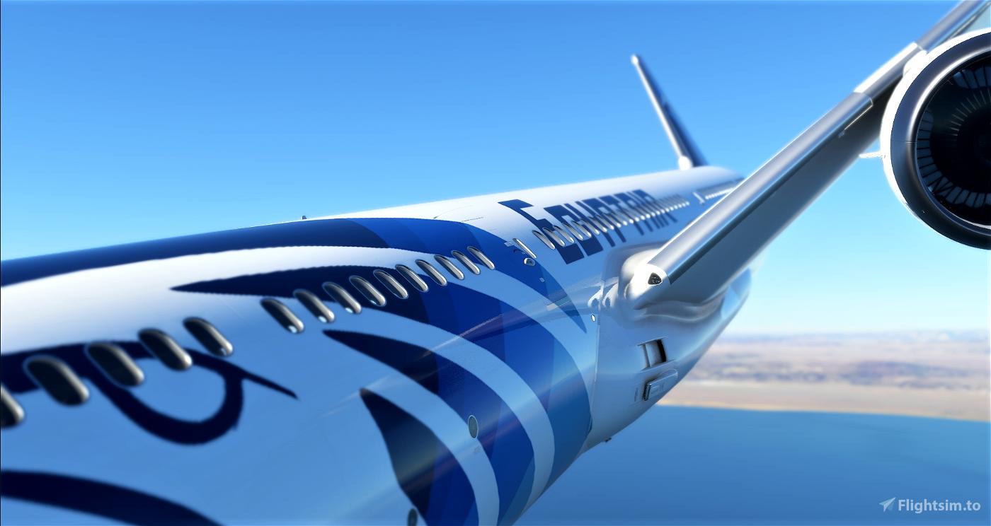 Egyptair 787 4K Microsoft Flight Simulator