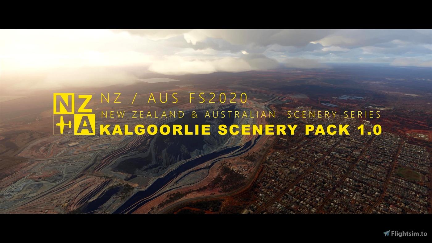NZA Simulations - YPKG Kalgoorlie-Boulder V1.0 Microsoft Flight Simulator
