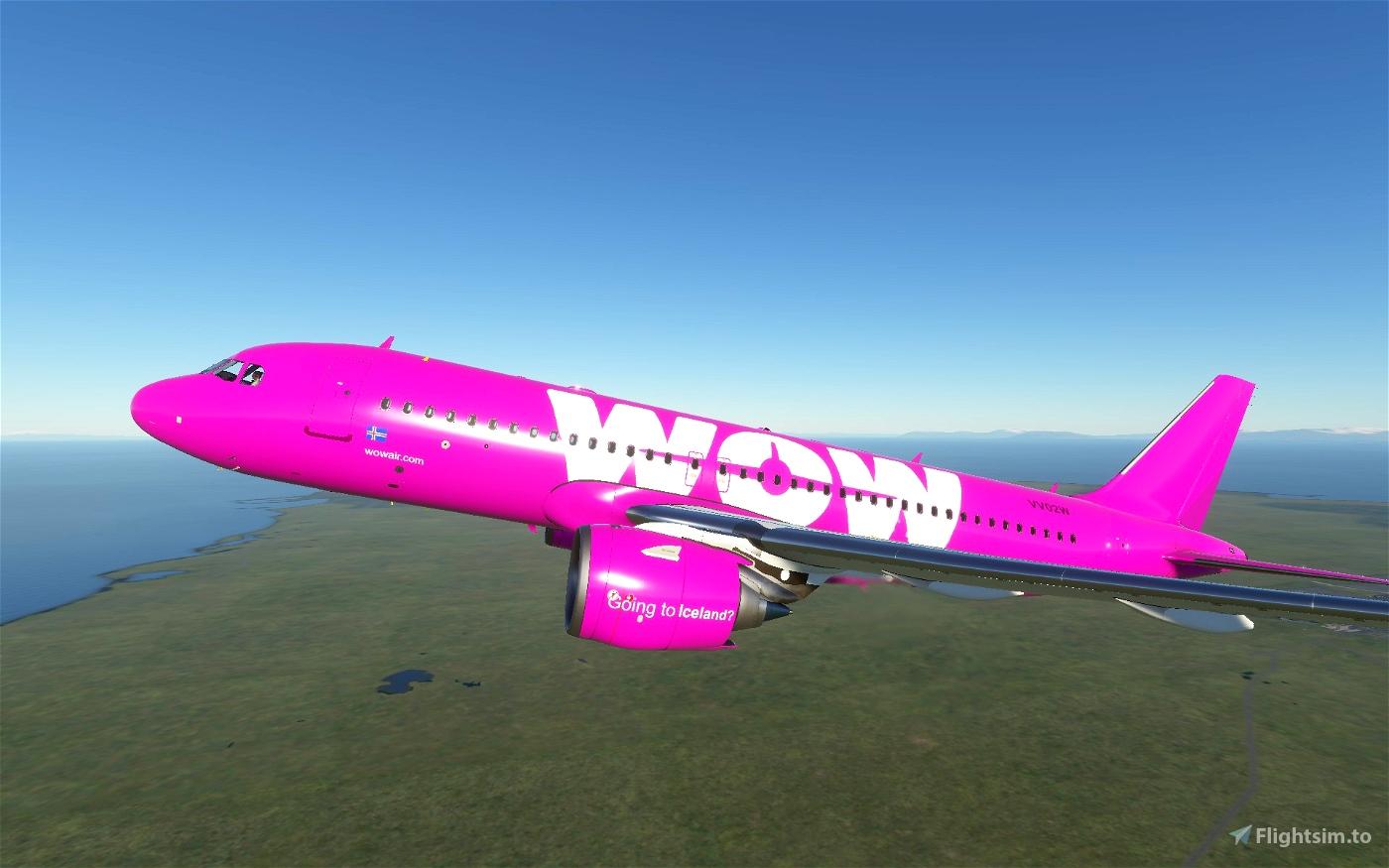 A320 WOW air