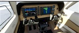Bonanza G36 panel file Image Flight Simulator 2020