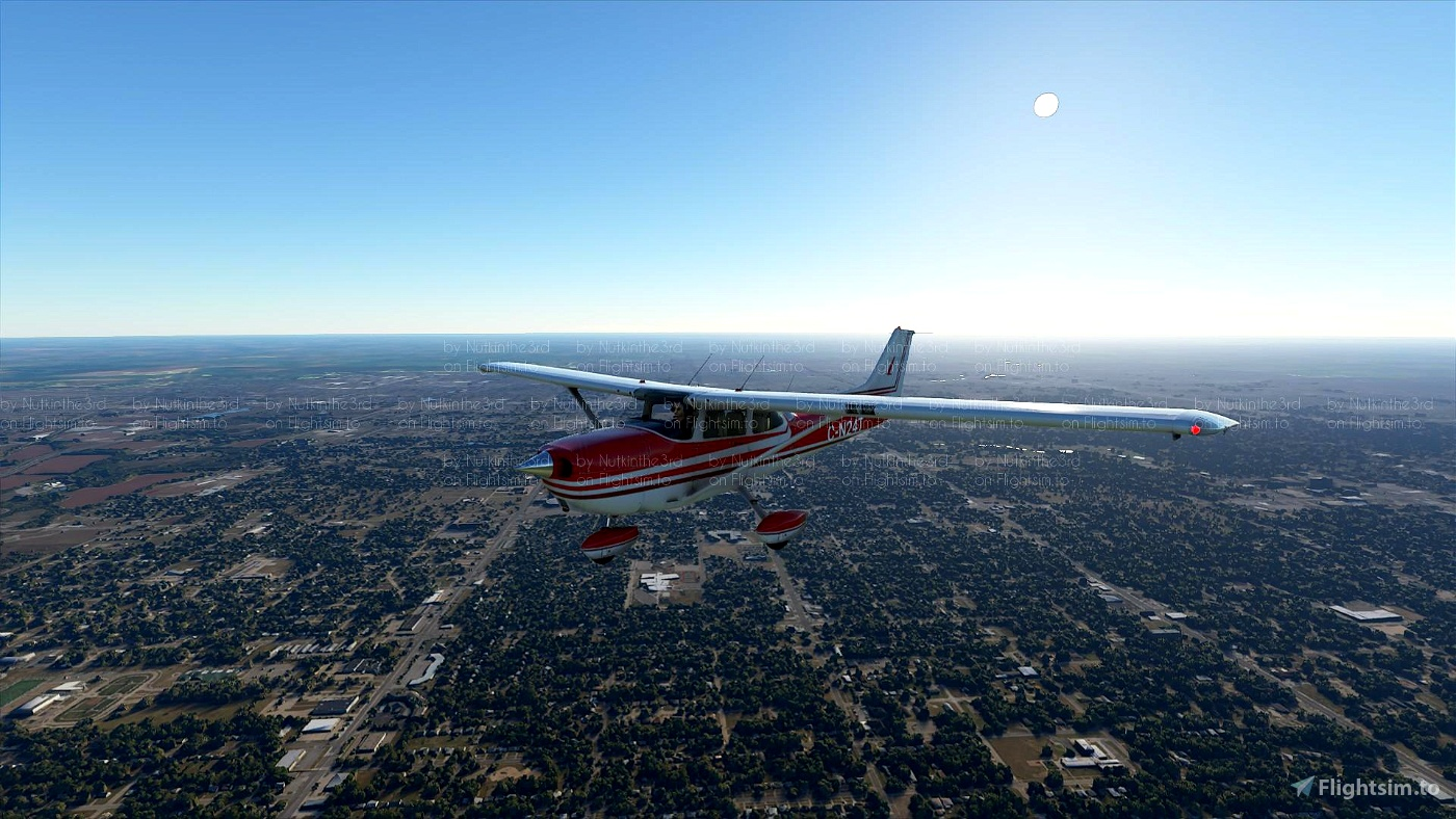 Cessna 172 (classic) Red Hawk Flight Simulator 2020