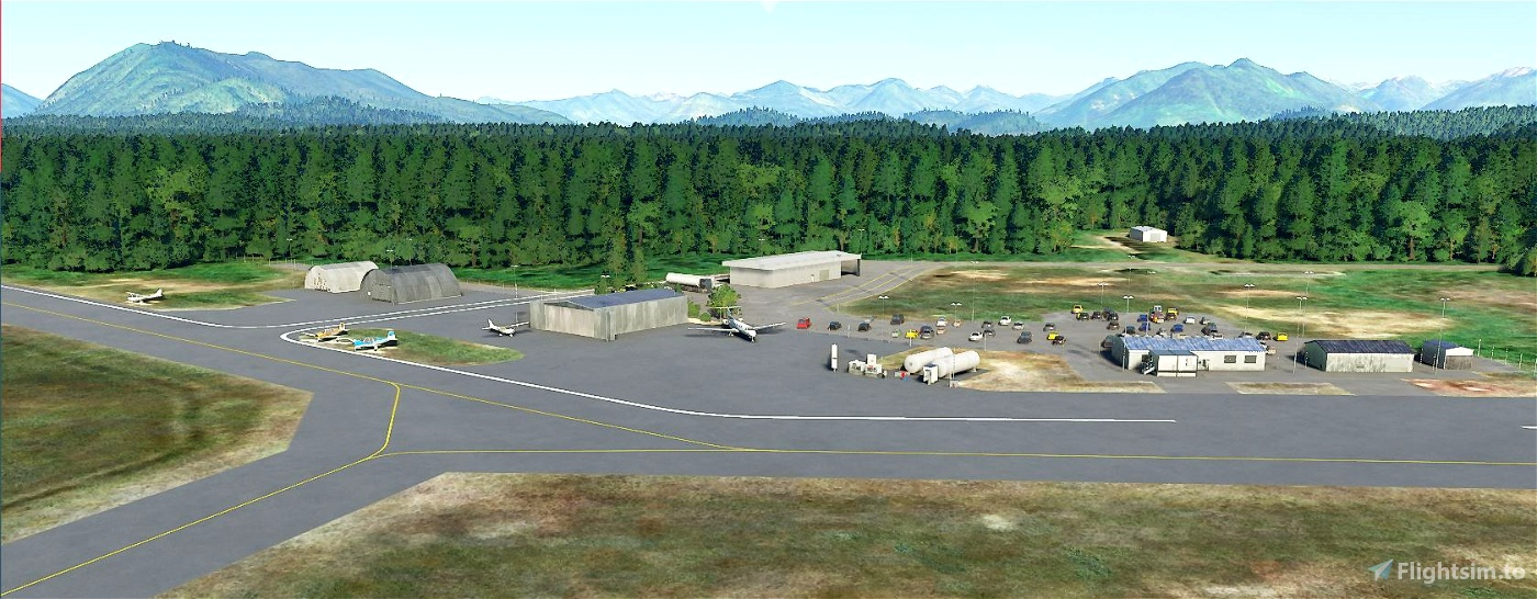 CYAZ Tofino, BC Image Flight Simulator 2020