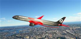 Boeing 787-10 Escobar Freight Livery with bonus Halloween Livery Image Flight Simulator 2020