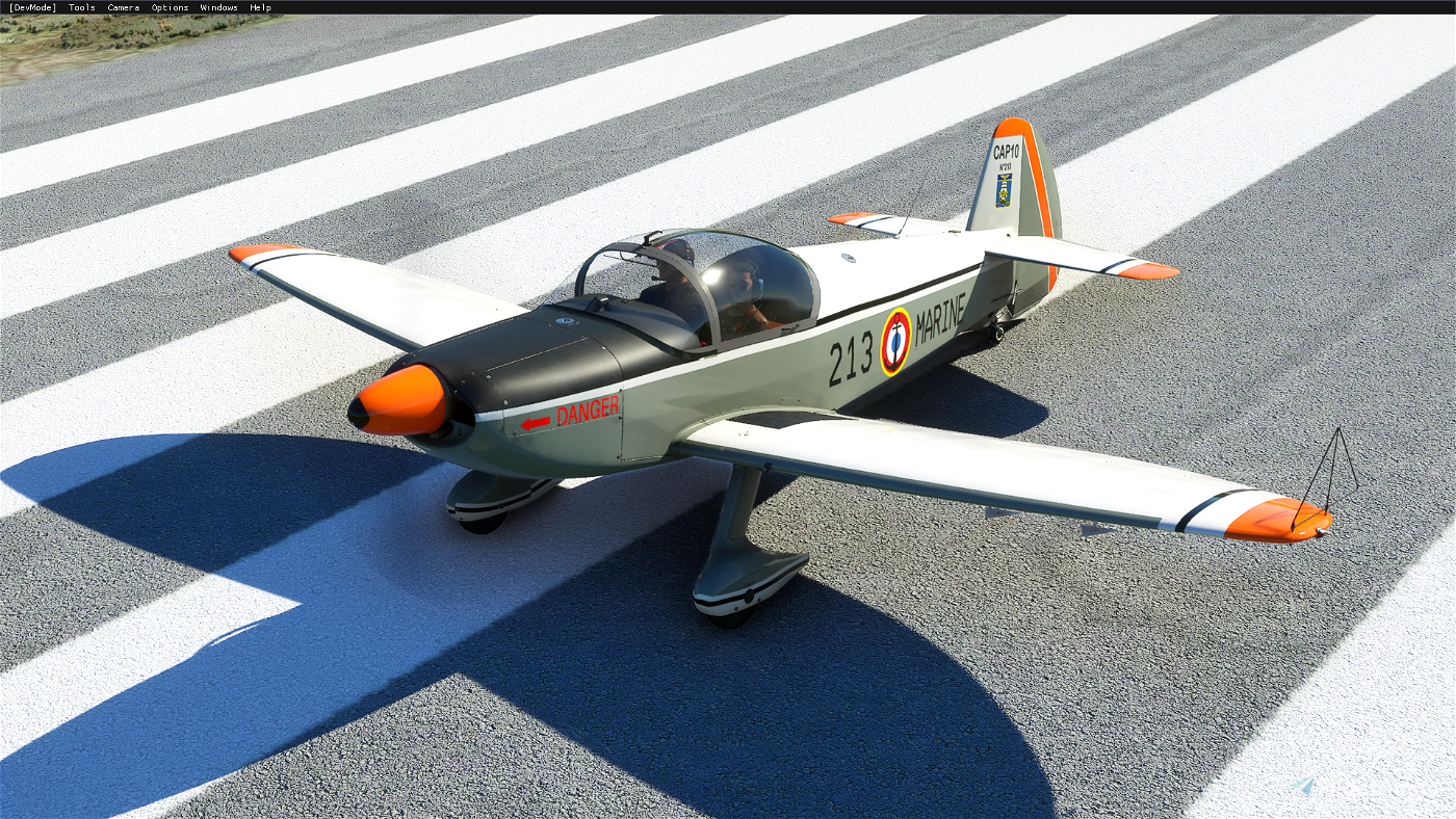 CAP 10 EIP50S French NAVY Flight Simulator 2020