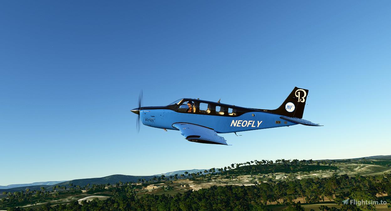 Bonanza Neofly (4K Updated) Flight Simulator 2020
