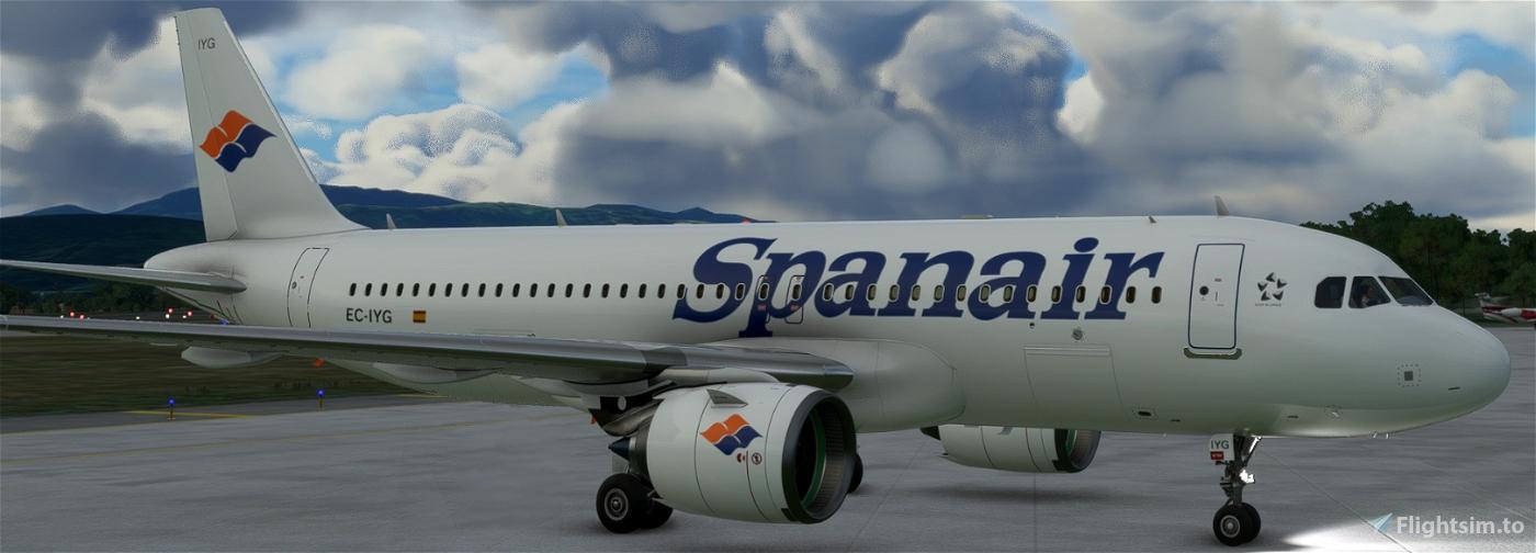 SPANAIR EC-IYG