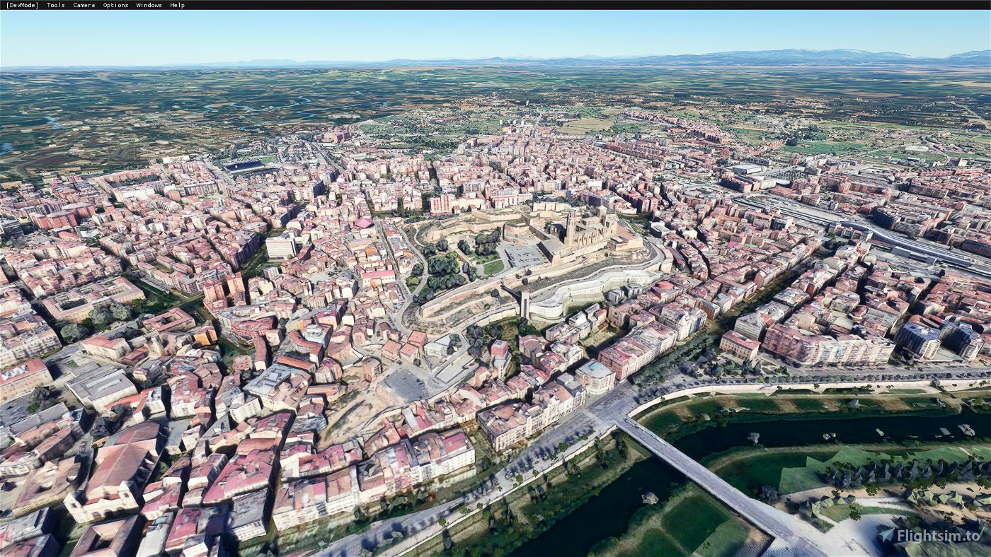Lleida City, Spain