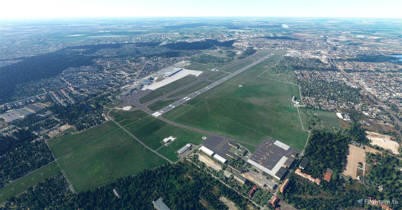 Poznań Ławica airport EPPO for FS2020