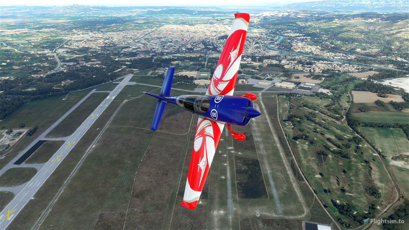 Extra 330 Equipe de Voltige de l'Armée de l'Air Flight Simulator 2020