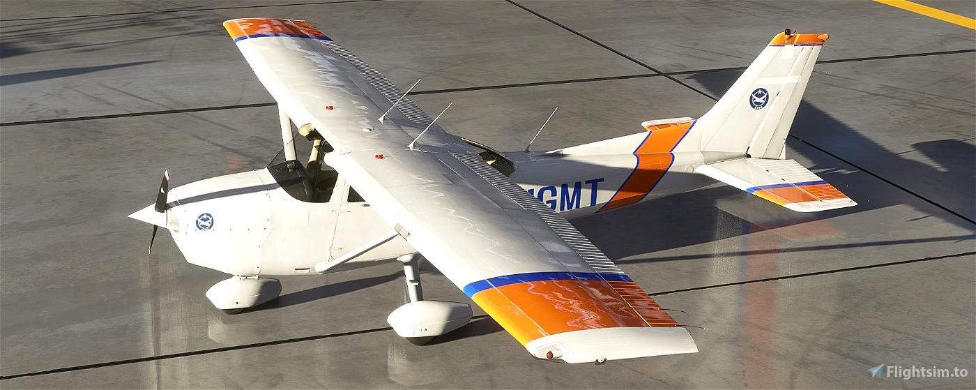Cessna 172 (Classic) F-HGMT Flight Simulator 2020