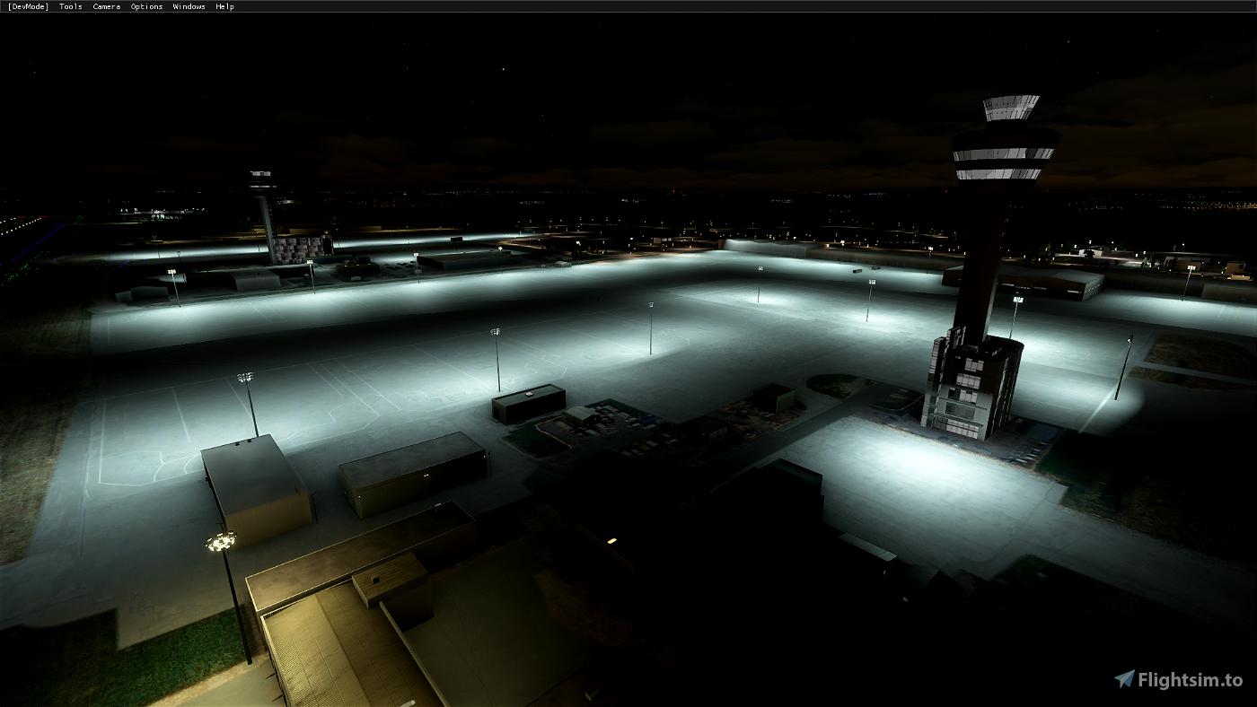 EGKK Gatwick Airport - Night Lighting Improvement