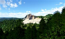 Crazy Horse Memorial, South Dakota, USA Microsoft Flight Simulator