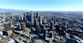 Downtown Los Angeles Image Flight Simulator 2020