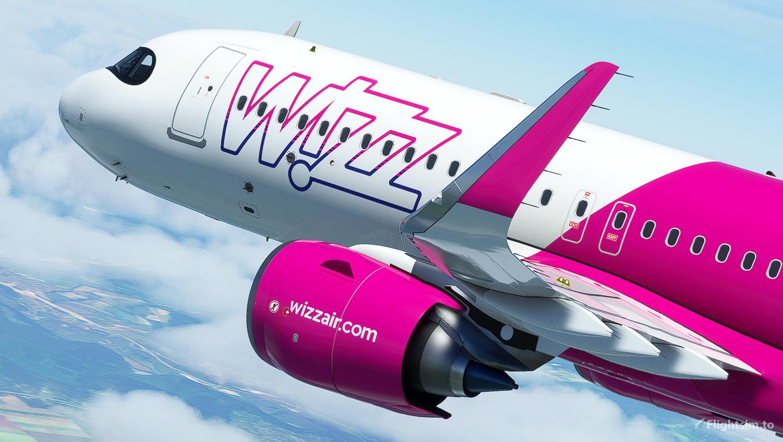 [A32NX] A320neo Wizz air (HA-LJA) 8k (v2.2) Microsoft Flight Simulator