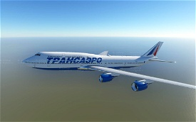 Transaero 747-8 Image Flight Simulator 2020