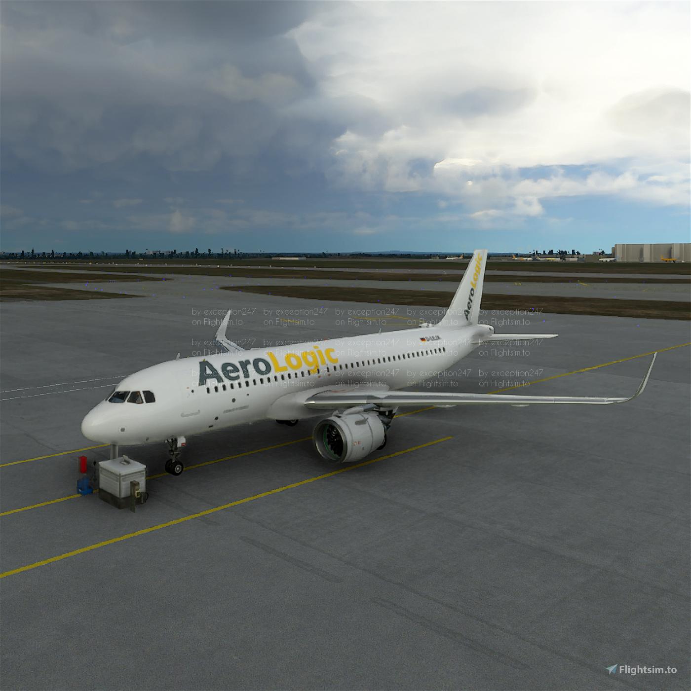 AeroLogic A320N Cargo Livery Flight Simulator 2020