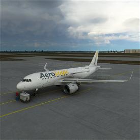 AeroLogic A320N Cargo Livery Image Flight Simulator 2020