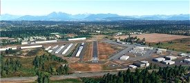 CYNJ Langley Regional Airport, BC Microsoft Flight Simulator