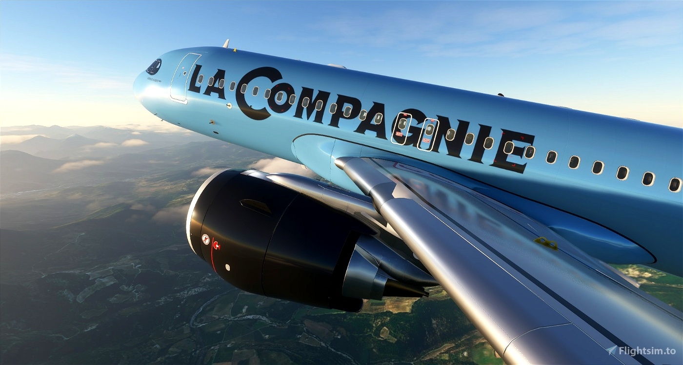 La Compagnie - 8K Flight Simulator 2020