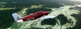 Bonanza G36 N22168 US-Crimson Image Flight Simulator 2020