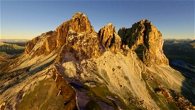 Italy - Sassolungo Image Flight Simulator 2020