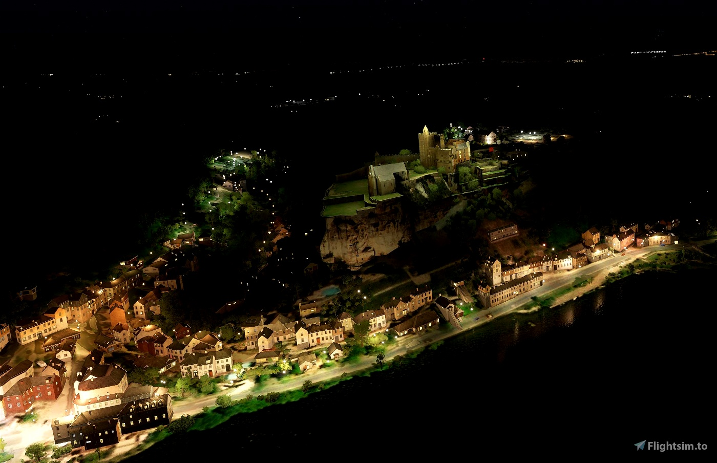 55 Castles in French Dordogne Flight Simulator 2020