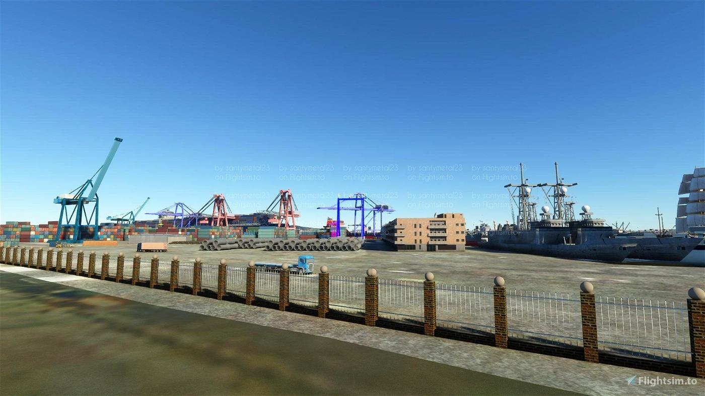 Montevideo,puerto de la ciudad
