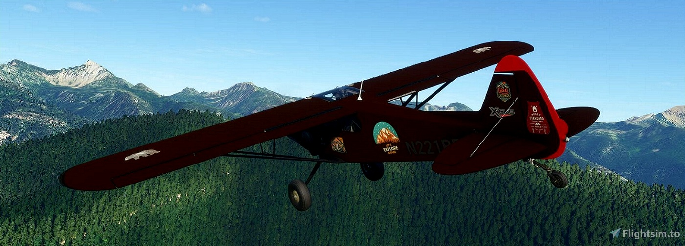 XCub_N221BR-Brown-Bear v2.0 (Compatible 1.12.13.0)