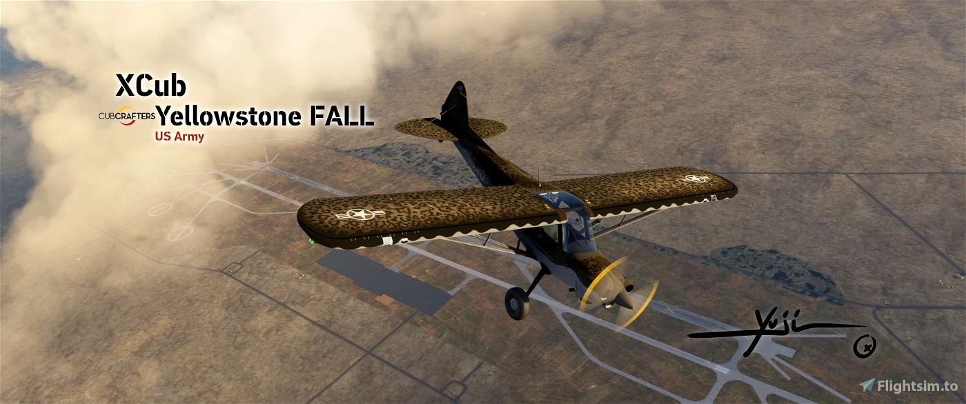 XCub-US-Yellowstone Fall Flight Simulator 2020