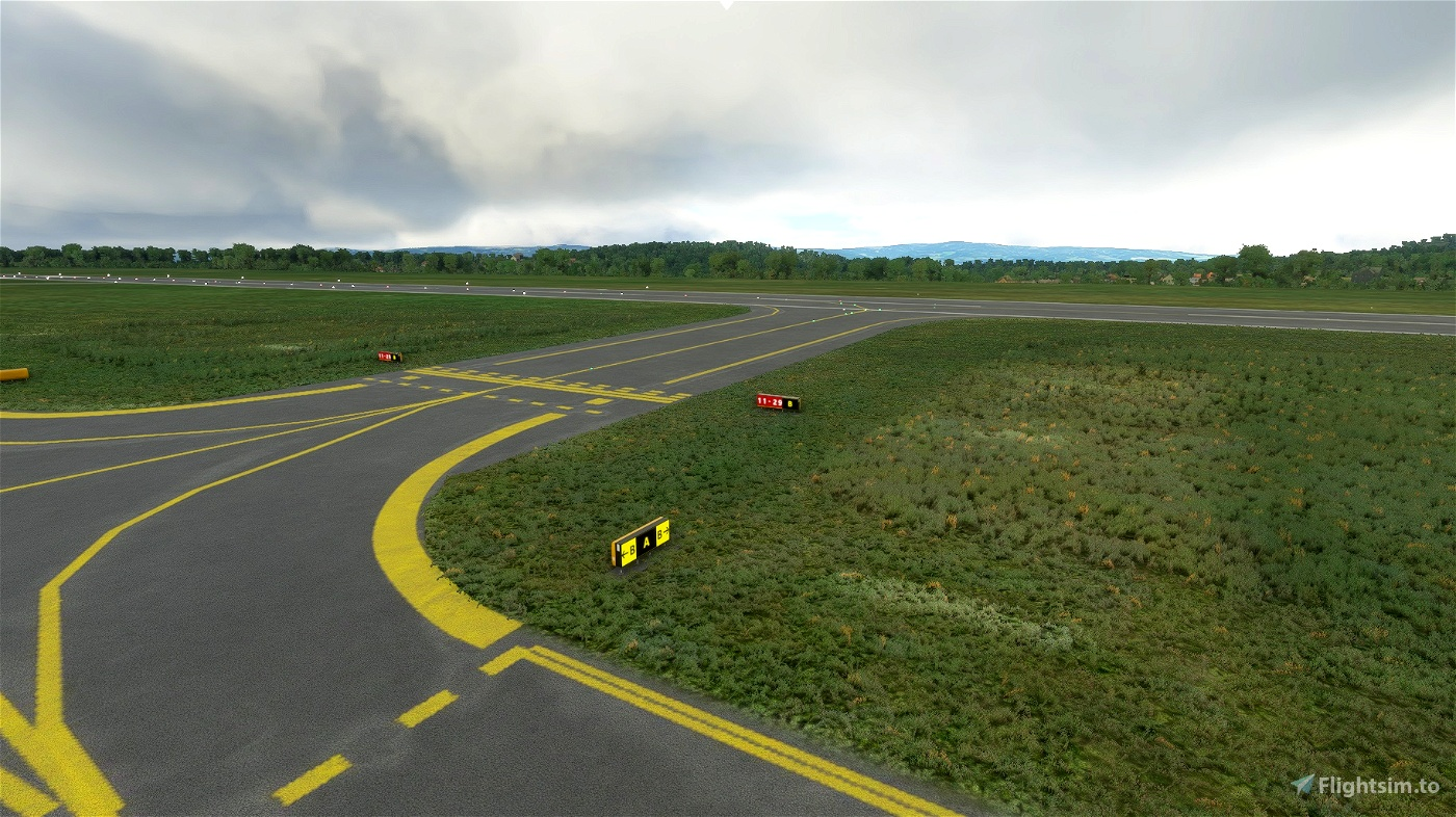 Karlovy Vary International Airport Image Flight Simulator 2020