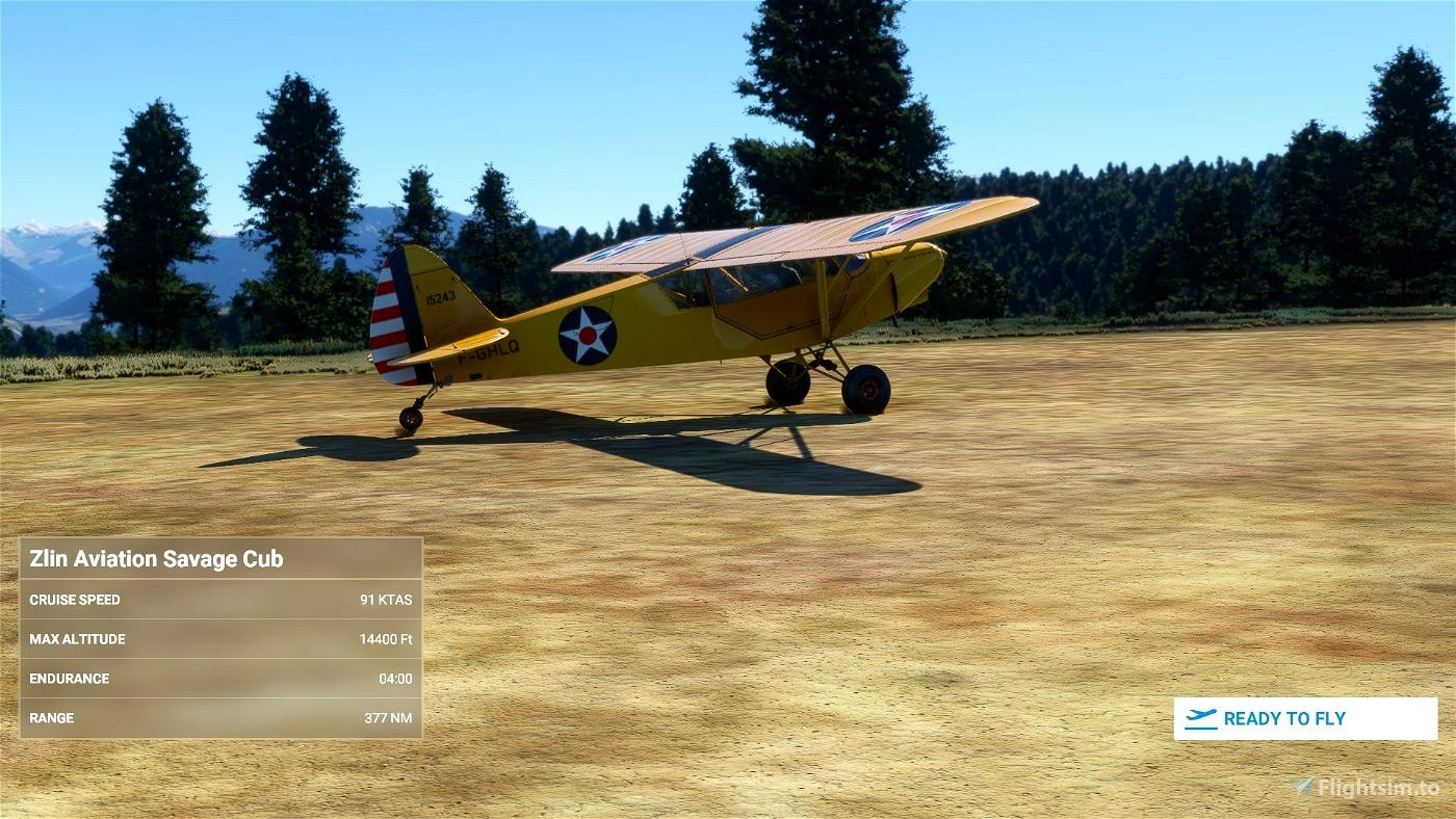 US Army Air Corp Piper Cub