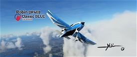 Robin DR400 Classic BLUE Image Flight Simulator 2020