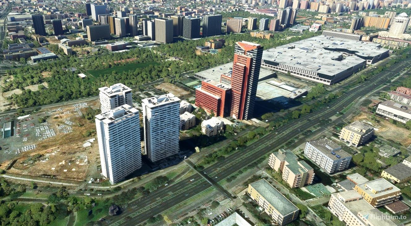 Hotel Marriott  Otros 3 edificios laterales - Santiago - Chile