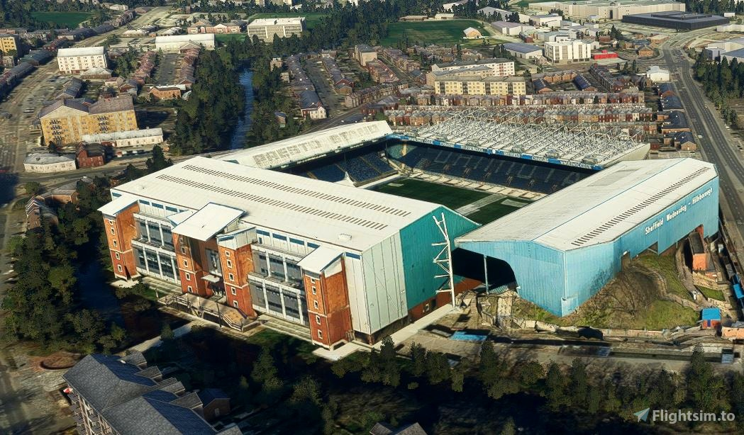 Hillsborough    Sheffield Wednesday Fc Microsoft Flight Simulator